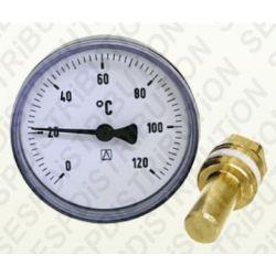 Thermomètre de chauffage bimétal AFRISO