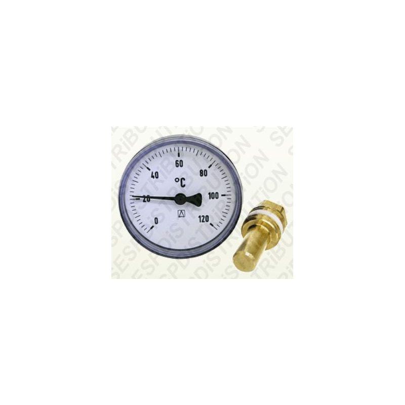 Thermom tre de chauffage bim tal afriso sespdistribution - Thermometre chauffage central ...