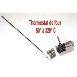 thermostat EGO 5518062050 pour four électrique 50° à 320 °C