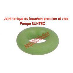 SUNTEC joint torique du bouchon pression et vide sur pompe de bruleur