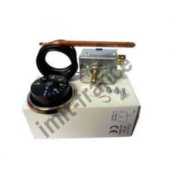 aquastat IMIT TR2 540359 0/90°C contact inverseur bouton rotatif et enjoliveur chromé