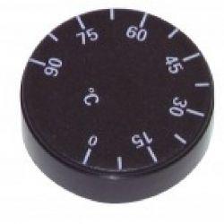 bouton pour thermostat IMIT graduation de 0 à 90°C