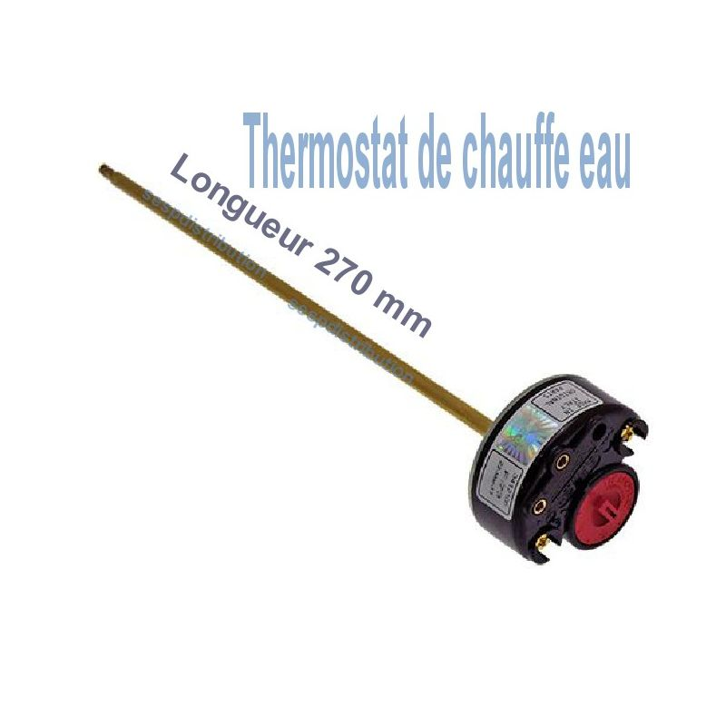 thermostat de chauffe eau tse rtm cor l 270 mm. Black Bedroom Furniture Sets. Home Design Ideas