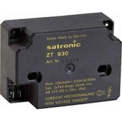 SATRONIC ZT930 2X7kv 240 V transformateur Honeywell 13124U