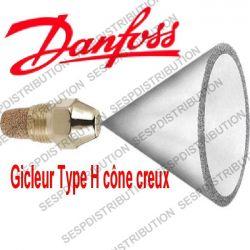Gicleur DANFOSS Type H cône creux DANFOSS H OD