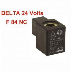 Bobine électrovanne DELTA F 84 NC 24 Volts pour pompe de brûleur DELTA VM