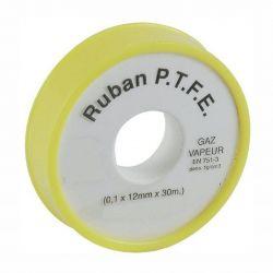 Ruban Téflon professionnel PTFE spécial gaz grande longueur 30 m