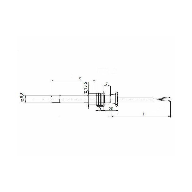cellule qrb1a a068b70b d tecteur de flamme sespdistribution. Black Bedroom Furniture Sets. Home Design Ideas