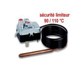 sécurité limiteur température 90/100° réglable C TG400
