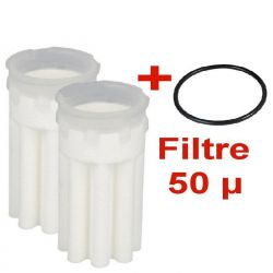 2 filtre fioul SIKU 50 70 µm avec 1 joint offert filter oil fuel