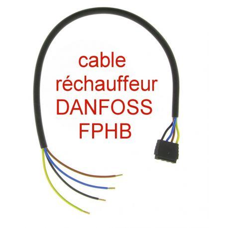 cable de réchauffeur DANFOSS 030N0045 POUR FPHB