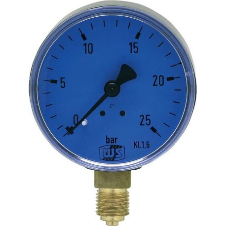 Manomètre fioul de 0 à 25 Bars