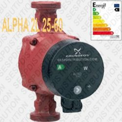 GRUNDFOS circulateur ALPHA 2L 25-60 180 mm