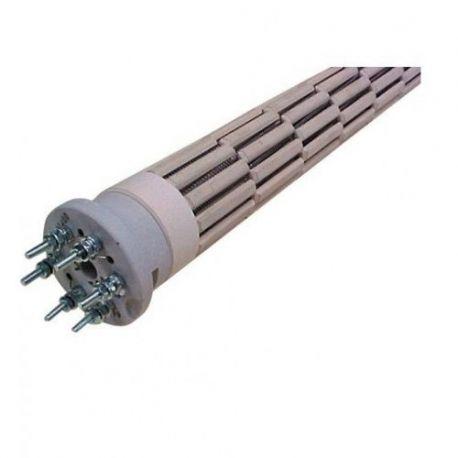 résistance 2200 W chauffe eau stéatite Ø 47 mm Lg 333 cotherm REST224702