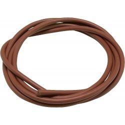 cable électrode haute température en silicone Ø 7 mm