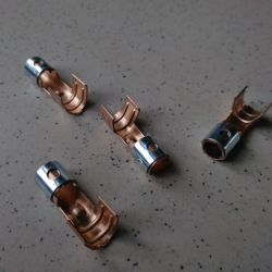 cosse pour cable allumage chaudière Ø 6,3 mm
