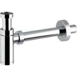Siphon pour vasque lavabo modèle design comtemporain chromé