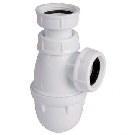 """siphon 1""""1/4 Ø 32 mm lavabo vasque bidet réglable en hauteur"""
