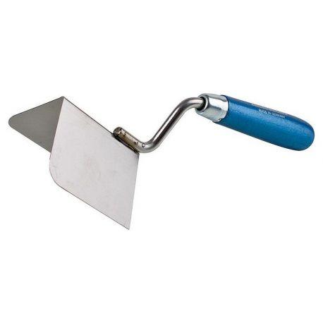 Truelle d'angle exterieur 90° enduit de lissage des angles de cloison sèche