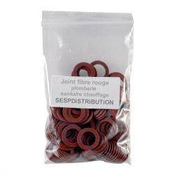 """joint fibre rouge plomberie sanitaire chauffage 1/4"""" à 2"""""""