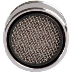 aérateur mousseur grille métal mitigeur bain-douche M 28x100