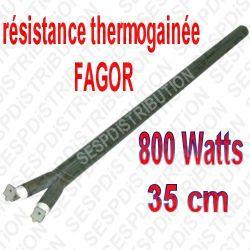 Résistance FAGOR thermogainée 800 watts 35cm