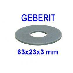 Joint de mécanisme pour GEBERIT 63x23x3 mm joint de chasse d'eau