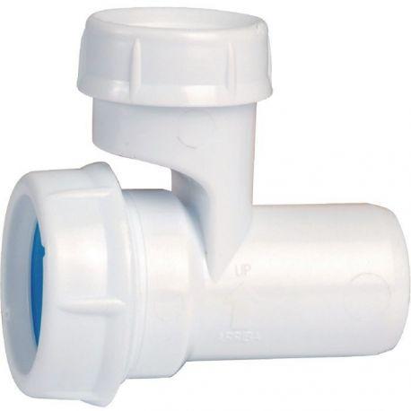 Soupape anti vide pour lavabo vasque pour PVC D32 supprime les remontées d'odeur