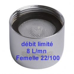 mousseur Femelle 22/100 économiseur PCA 8 L/mn F 22x100