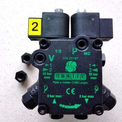 Pompe SUNTEC ATUV 45 R 9861 6P07001 avec 2 électrovannes