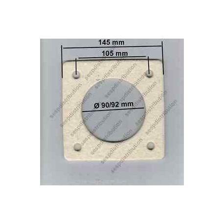 Joint bride de bruleur de chaudière chauffage Ø 90 mm WL5 241050114/7