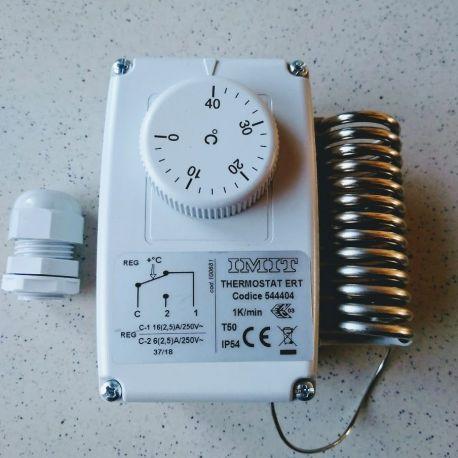 Thermostat ERT 544405 0°C à +40°C thermostat d'ambiance étanche