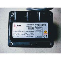 COFI TRS 818 PC 1x 8 KV transformateur allumage gaz chaudière ignition burner