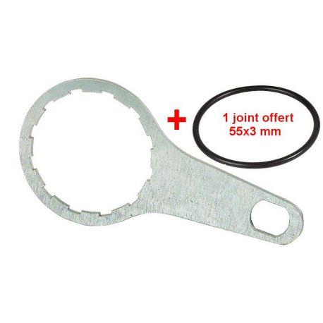 clef pour filtre fioul
