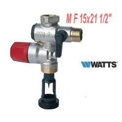 """groupe de sécurité MF 1/2"""" 15x21 WATTS GS NA53 M2 modèle vertical"""