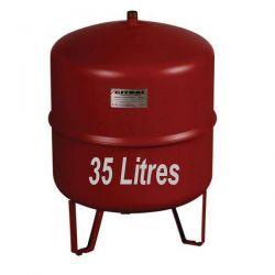 Vase d''expansion GITRAL 35 Litres Chauffage central sur trépied