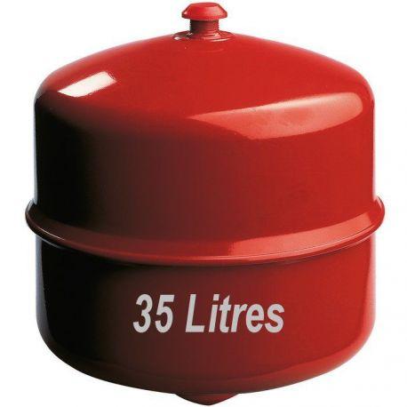 Vase d'expansion GITRAL 35 Litres à membrane pour chauffage