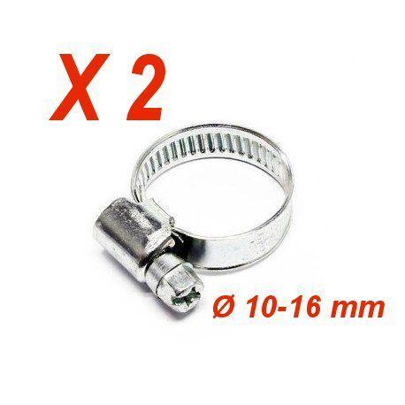 collier de serrage lot de 2 Ø 10 16 mm