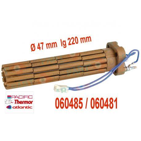 résistance stéatite 1200 W avec connecteur 060485 Thermor pacific Atlantic