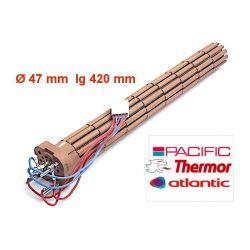 résistance stéatite 2400 W avec connecteur 060479 Thermor pacific