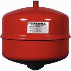 Vase d'expansion GITRAL 12 Litres à membrane pour chauffage