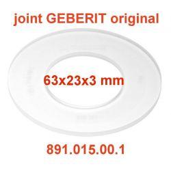 joint GEBERIT 63x23x3 mm 891.015.00.1 rondelle de chasse d'eau