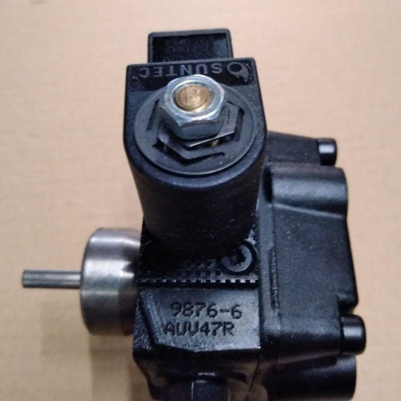 Pompe SUNTEC AUV 47 L 9877 avec électrovanne