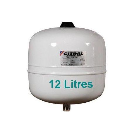 Vase d'expansion sanitaire GITRAL 12 Litres
