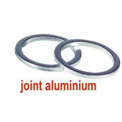 2 joints aluminium pour pompe à fioul nipple mamelon