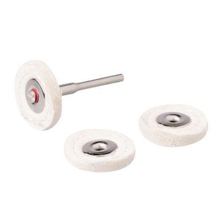 feutre de polissage Ø 25 mm mini perceuse silverline référence 656616
