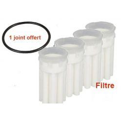 4 filtre fioul SIKU 50 70 µm avec 1 joint offert filter oil fuel