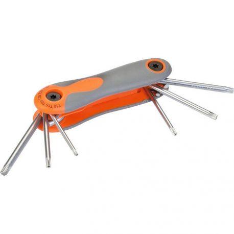 Jeu de 6 clés étoilées sur monture Master Tools - T10 à T30