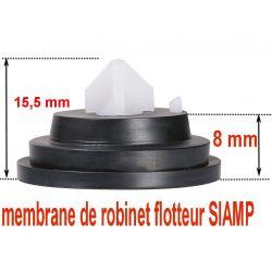 membrane de robinet flotteur SIAMP 95/99 épaisseur 8 mm