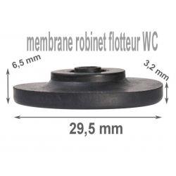 membrane de robinet flotteur épaisseur 6,5 mm